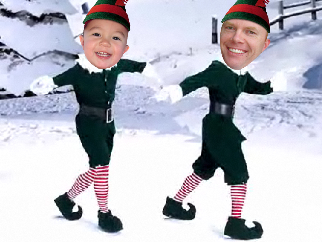 Day 348 – More Elf Yourself   Ladybuglover365